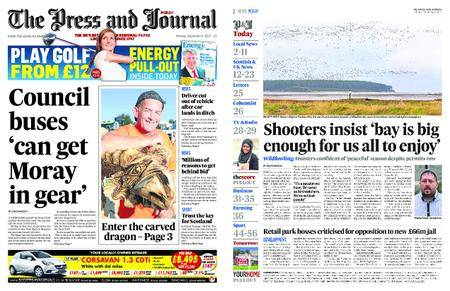 The Press and Journal Moray – September 04, 2017