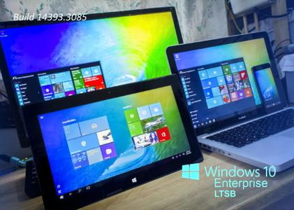 Windows 10 Enterprise LTSB 2016 Version 1607 Build 14393.3085