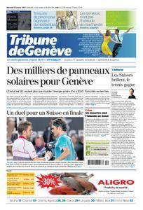 Tribune de Genève du 25 Janvier 2017