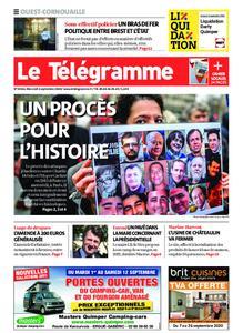 Le Télégramme Ouest Cornouaille – 02 septembre 2020