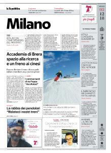 la Repubblica Milano - 5 Dicembre 2018