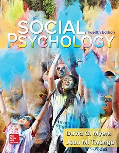 Social Psychology (B&B Psychology)