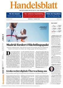 Handelsblatt - 07. August 2018