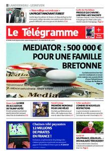 Le Télégramme Landerneau - Lesneven – 14 janvier 2021
