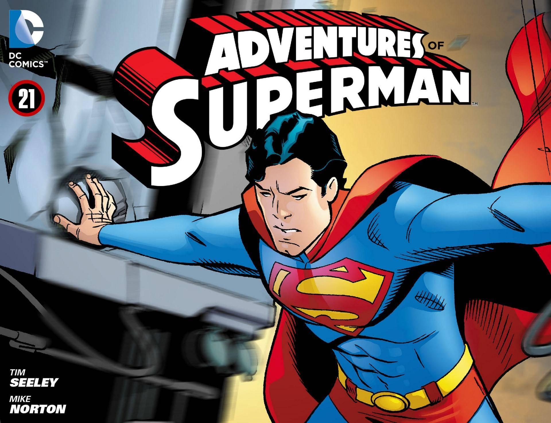 Adventures of Superman 021 2013 Digital