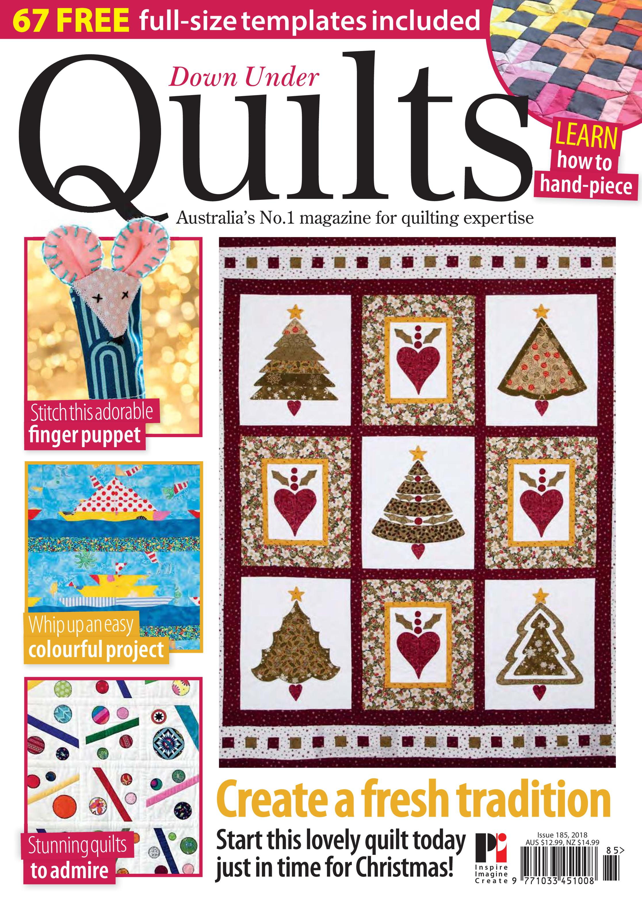 Down Under Quilts – January 2019