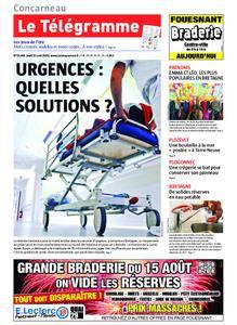 Le Télégramme Concarneau – 15 août 2019
