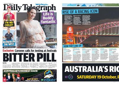The Daily Telegraph (Sydney) – October 15, 2019