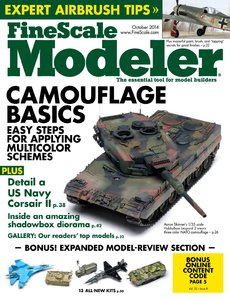FineScale Modeler 2014-10 (Vol.32 No.08) [Repost]