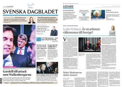 Svenska Dagbladet – 19 april 2018