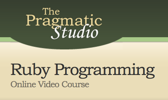 The Pragmatic Studio - Ruby Programming Online Video Course