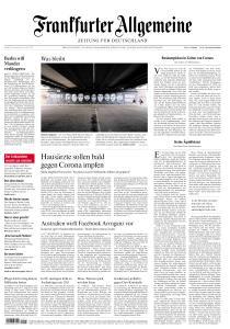 Frankfurter Allgemeine Zeitung - 19 Februar 2021
