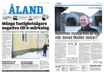Ålandstidningen – 23 januari 2019