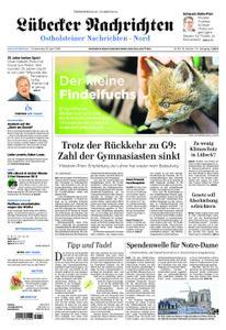 Lübecker Nachrichten Ostholstein Nord - 18. April 2019