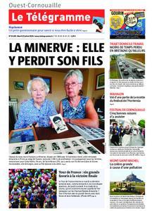 Le Télégramme Ouest Cornouaille – 23 juillet 2019