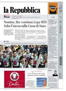 la Repubblica - 19 Luglio 2018