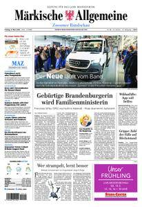 Märkische Allgemeine Zossener Rundschau - 09. März 2018