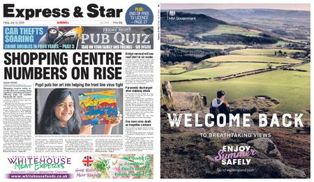 Express and Star Sandwell Edition – July 10, 2020