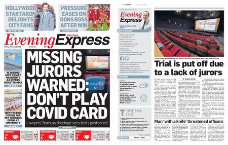 Evening Express – February 22, 2021