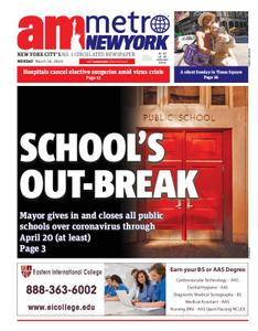 AM New York - March 16, 2020