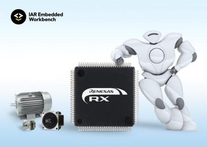 IAR Embedded Workbench for Renesas RX version 4.12.1