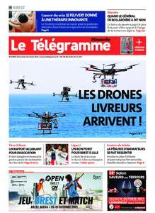 Le Télégramme Brest Abers Iroise – 24 octobre 2021