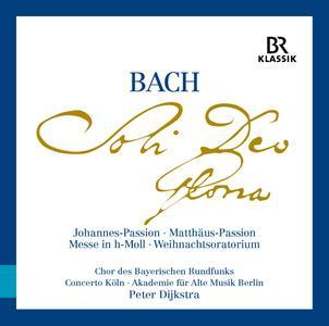 Peter Dijkstra, Chor des Bayerischen Rundfunks - Bach: Soli Deo Gloria [9CDs] (2016)