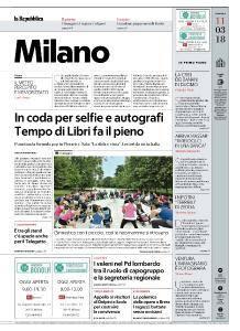 la Repubblica Milano - 11 Marzo 2018