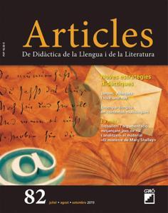 Articles. Didàctica de la Llengua i de la Literatura - juliol 2019
