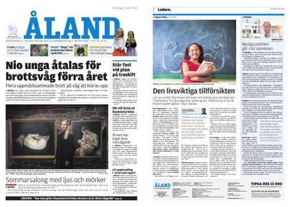 Ålandstidningen – 07 juni 2018