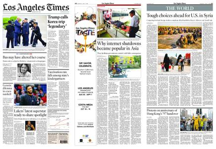 Los Angeles Times – July 01, 2019