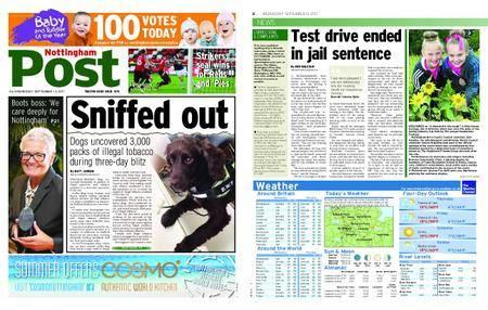 Nottingham Post – September 13, 2017