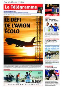 Le Télégramme Brest Abers Iroise – 21 octobre 2019