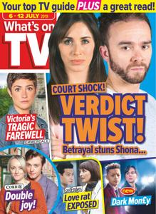 What's on TV - 06 July 2019