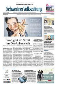 Schweriner Volkszeitung Hagenower Kreisblatt - 15. September 2018