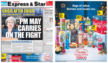 Express and Star Sandwell Edition – December 13, 2018