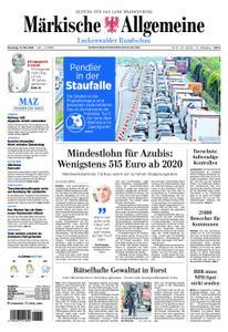 Märkische Allgemeine Luckenwalder Rundschau - 14. Mai 2019