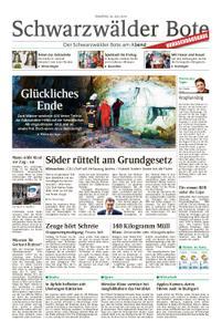 Schwarzwälder Bote Hechingen - 30. Juli 2019