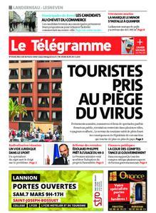Le Télégramme Landerneau - Lesneven – 26 février 2020