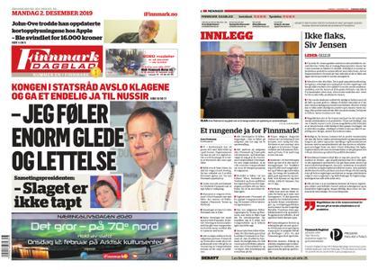 Finnmark Dagblad – 02. desember 2019