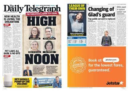 The Daily Telegraph (Sydney) – November 13, 2017