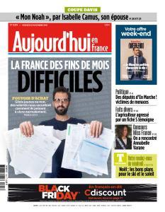 Aujourd'hui en France du Vendredi 23 Novembre 2018
