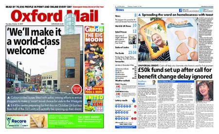 Oxford Mail – October 12, 2017