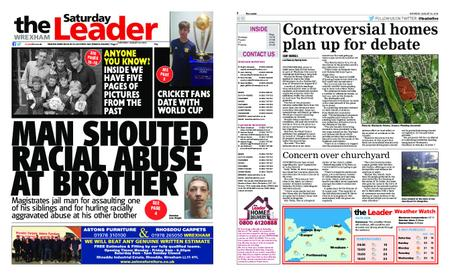 The Leader Wrexham – August 24, 2019