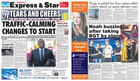 Express and Star Sandwell Edition – May 15, 2019