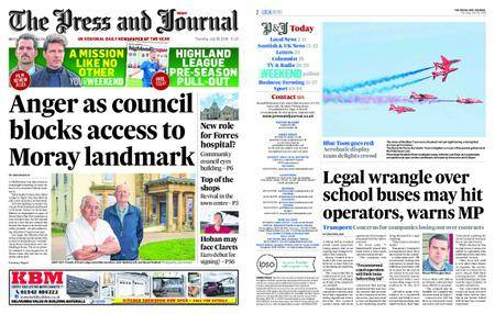 The Press and Journal Moray – July 26, 2018