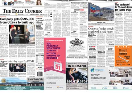Kelowna Daily Courier – March 15, 2019