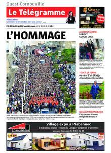Le Télégramme Ouest Cornouaille – 11 juin 2019