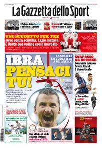 La Gazzetta dello Sport Roma – 24 dicembre 2019
