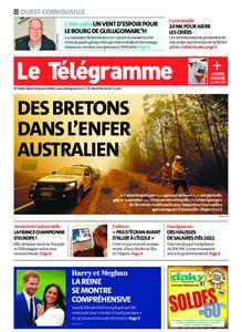 Le Télégramme Ouest Cornouaille – 14 janvier 2020
